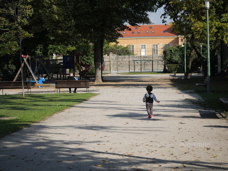 クロアチア・ザグレブの公園